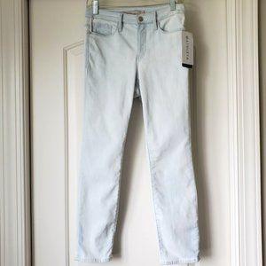Athleta Sculptek Skinny Crop Biscayne Wash Jeans 6